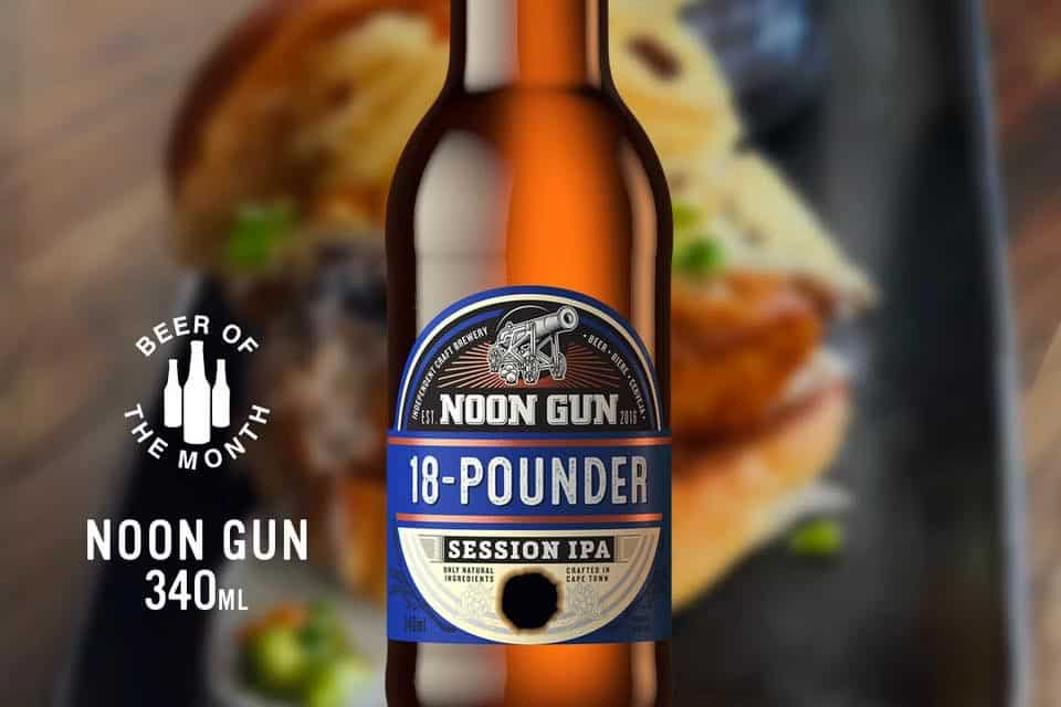 Noon Gun Brewery 18 Pounder IPA