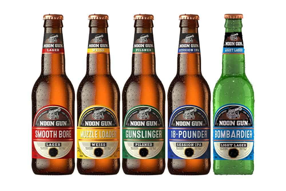 Noon Gun Brewery Beer Range