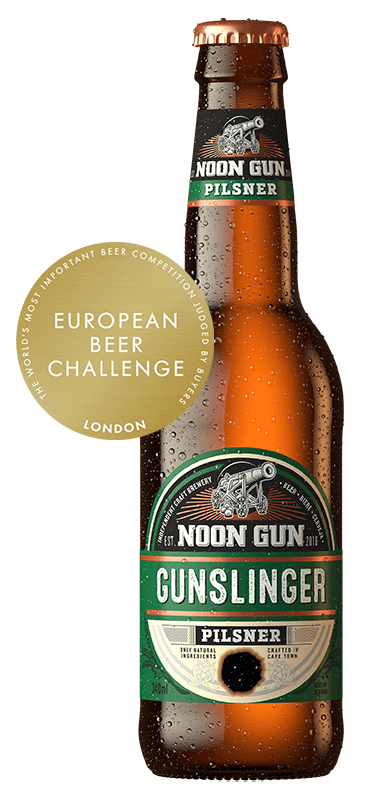 Award Winning Gunslinger Pilsner